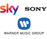BSkyB, Sony, Warner Music Group