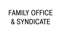Family office & syndicate