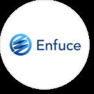 Enfuce logo circle FinTech40