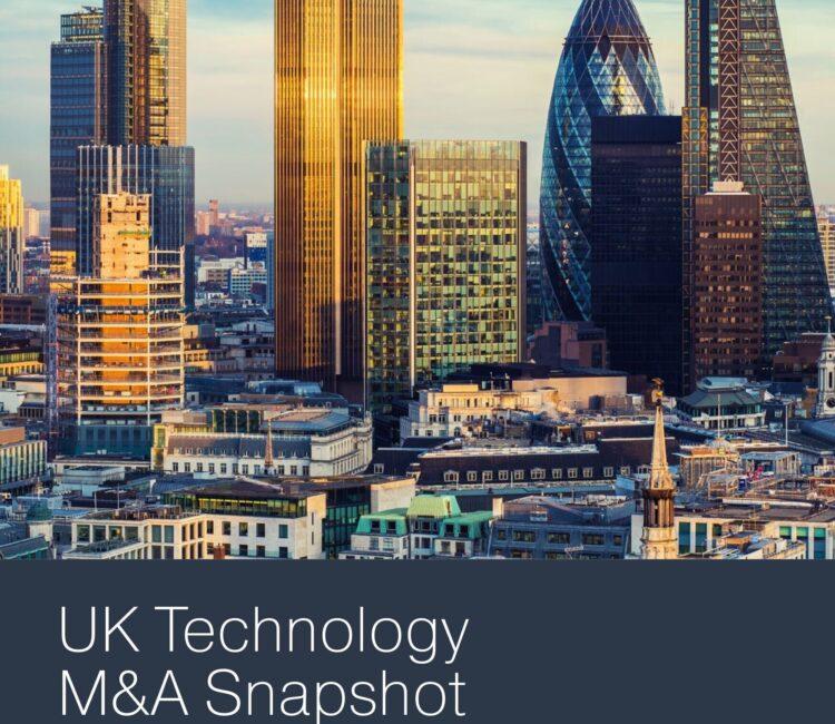 Q3 2020 UK Tech MA Snapshot COVER