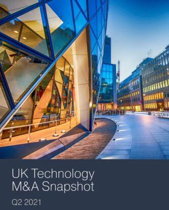 Q2 2021 UK Technology M&A Snapshot