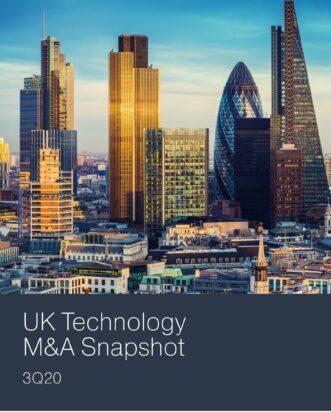 Q3 2020 UK Technology M&A Snapshot
