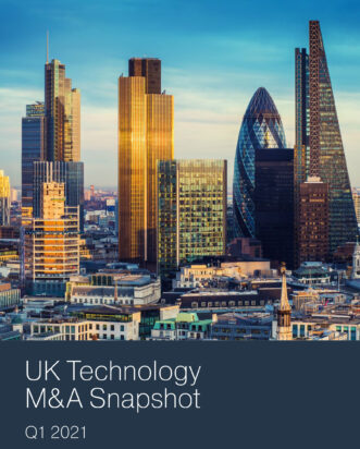 Q1 2021 UK Technology M&A Snapshot