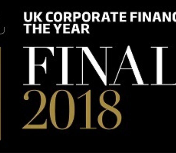 Official logo PEA 2018 UK Corporate Finance House of the Year banner crop
