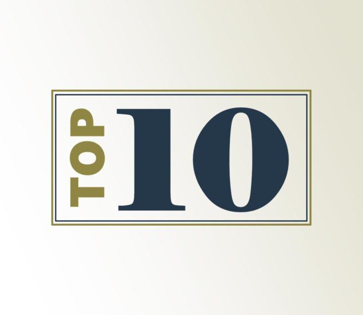 Top 10 Framed