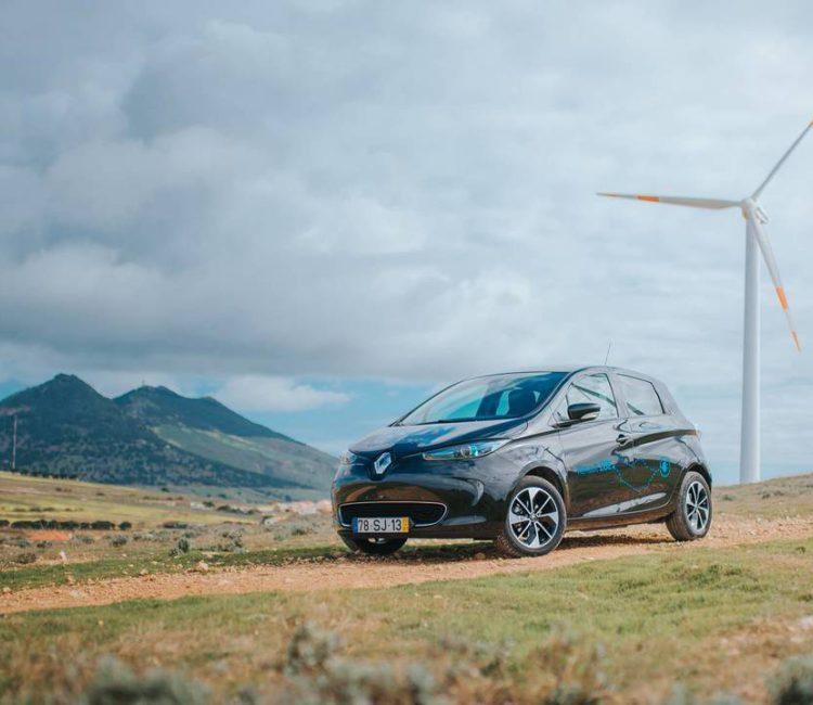 Renault zoe porto santo smart island